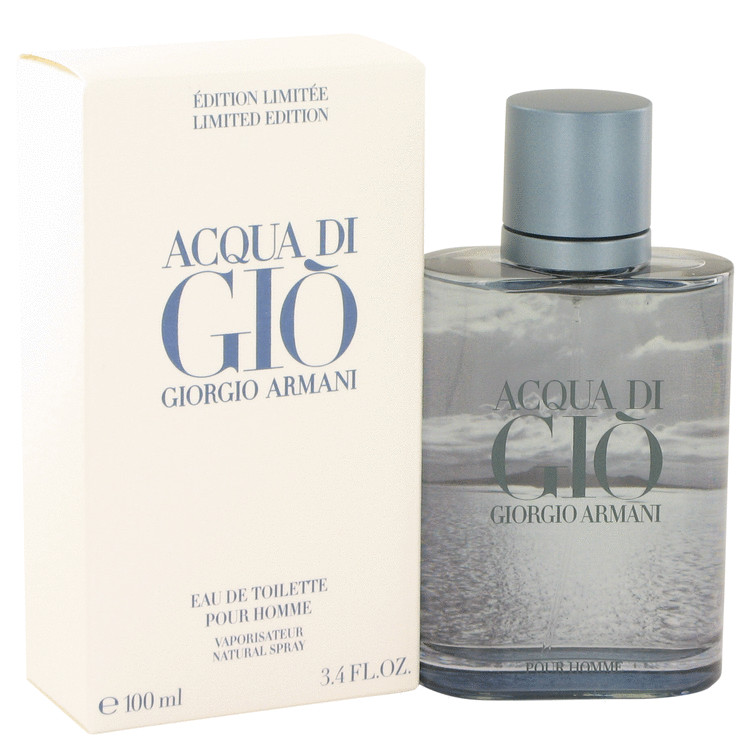 Acqua Di Gio Blue Edition Eau De Toilette Spray Limited Edition By Giorgio Armani